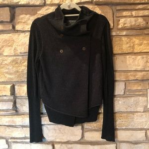 All Saints funky wool sweater